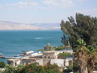 Sea of Galilee at Tiberias